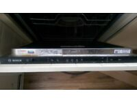 Used Bosch Serie | 2 SMV40C30GB black ActiveWater Dishwasher 60cm Fully integrated - COLLECTION ONLY