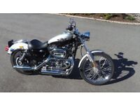 Harley Sportster 1200 cc The 100th Anniversary Edition, Under 4000 miles