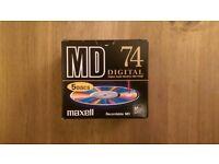 Maxell Recordable Minidiscs (Box of 5) New & Sealed