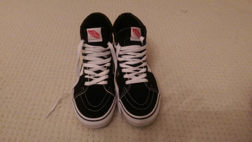 Vans Black SK8-HI SHOES in Women s size 5.5 (worn twice ae1f4d4f96