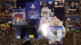 BRAND NEW SEALED FIFA 18 N 7 PS4 GAMES DUAL SHOCK CONTROLLER N PS4 MONO HEADSET ALL MINT CONDITION