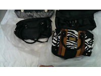 Job lot for SALE qty 14 women Hand bags for cart boot or eBay etc job lot 1 + 2