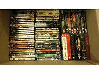 125 DVD's Plus 13 Boxsets