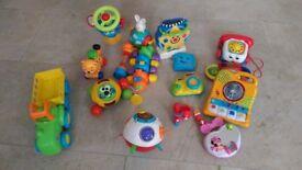 Assorted toys (Vtech, FisherPrice, ELC) - £10
