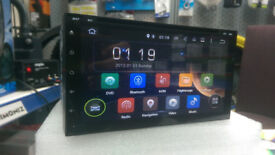 BNIB 6.95 2 DIN GPS ANDROID 5.1.1 CAR STEREO*CD/DVD PLAYER**IPHONE&ANDROID MIRROR LINK**16GB MEMORY