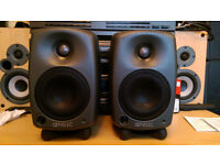 Genelec 8020C Professional Active Studio Monitors (pair),CLEAR SOUND,LIKE NEW CONDITION,