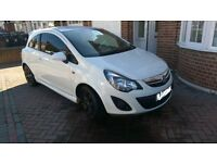 VAUXHALL CORSA HATCHBACK SPECIAL EDSs 1.4 EXCITE WHITE GREAT CONDITION
