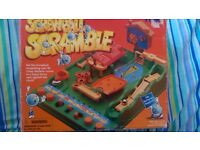 Screwball Scramble / Magnetic chess set / Travel 4 in a row/ Topple / Can sell individually as well!