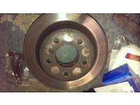BMW E39 Brake discs and pads, used.