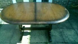 Beautiful Ercol extendable table