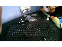 Keyboard mouse and webcam