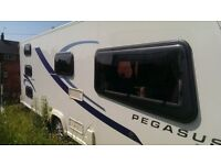 Bailey Pegasus Ancona 2012, with extras, in exceptional condition