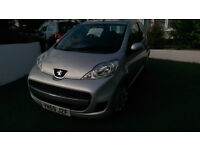 Peugeot 107 2009, only 44,000 miles, new clutch, discs and battery at 30,000 Silver, nice car.
