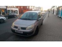 Renault scenic Auto 1.6 low miles 6 months mot running but need pw pump