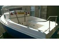 Boat and Trailer for sale (19)ft
