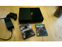 XBox One, console, controller and 12 games