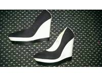 River Island wedge shoes, size 5