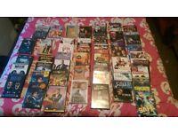 50 mixed dvds 1blu-ray harrypotter set,csi set,men in black set,danny dier set
