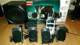Logitech Z5500 5.1 Digital Surround Sound Speaker System