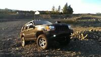 98 jeep grand cherokee 5.9 limited, lifted!