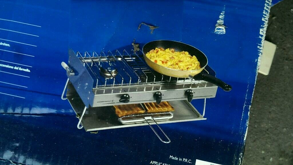 Camping gas stove free delivery
