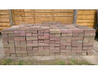 BARGAIN BLOCK PAVING!!! 600 - that's right, SIX HUNDRED Block Paving bricks!