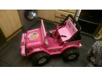 Barbie electric quad
