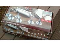 Cake decorating set - Perfect for decorating cakes, pies and other dishes