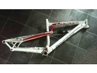 LAPEIRRE spicy 216 frame with rear shock £170