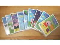 Peppa Pig DVDs: 9