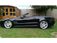 Mercedes SL55 AMG covertible supercar, immaculate