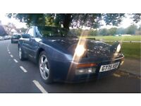 Porsche 944 S2 3.0L 16v, 1989 G Reg, Baltic Blue, Cream Leather Interior, Fast Appreciating Classic