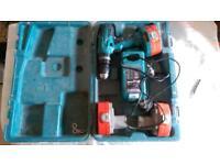 Makita cordless 18v hammer drill