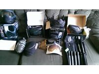 Paintball gear..lots of items for sale.