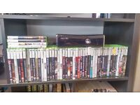 Xbox 360 500gb in great condition plus 49 games, 3 controllers, hdmi lead,