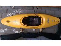 Dagger GTX kayak (canoe) with spraydeck and paddle