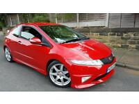 - 2008 HONDA CIVIC TYPE R GT IN EXCELLENT CONDITION FSH STUNNING MILANO RED -