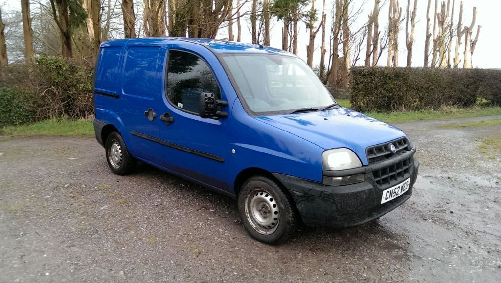 2002 fiat doblo cargo jtd sx 1 9 diesel van blue in barry vale of glamorgan gumtree. Black Bedroom Furniture Sets. Home Design Ideas