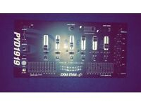PYLE PRO 4 channel mixer and Scratch Pad