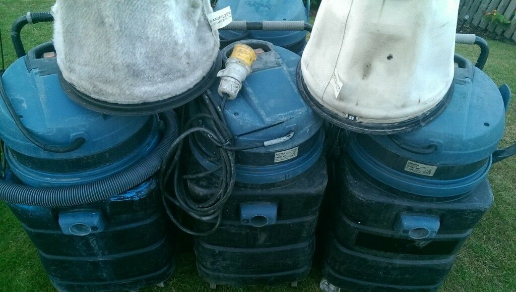 JOB LOT: 4 x 2600W Industrial Vacuum Cleaner / Wet Vac & 2 x Filters | in  Hamilton, South Lanarkshire | Gumtree