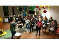 Samba drumming class - Samba and Global Beats