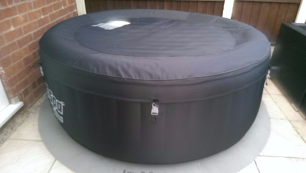 lay z spa miami hot tub in basford nottinghamshire gumtree. Black Bedroom Furniture Sets. Home Design Ideas