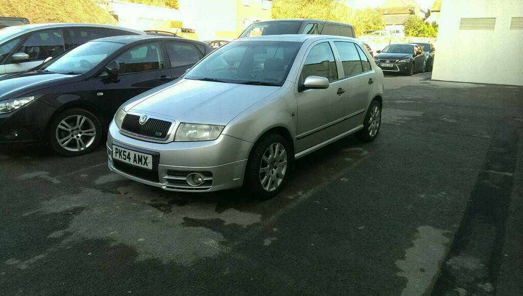 Skoda fabia vrs. Quick sale! Long MOT