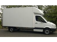 RELIABLE MAN & VAN & REMOVAL SERVICES FROM £25/hr(small van). WE LUTON VAN WITH TAIL LIFT.