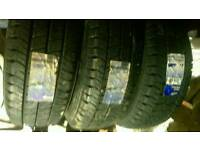 Goodyear van tyres 225 65 16 new x3