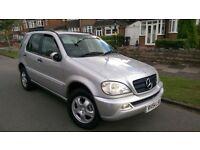 Mercedes Benz M CLASS,7 seater,2.7l CDI,auto,silver