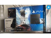 £220! PS4 BUNDLE WITH BOPS 3, STAR WARS BATTLRFRONT SEALED, TRITTON HEADSET AND CONTROLLER! BARGAIN!