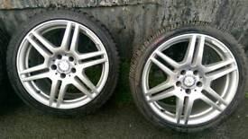 "18"" Genuine Amg Mercedes 5x112"