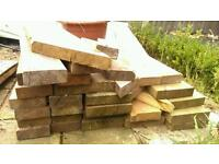 Reclaimed wood 32 pieces various sizes