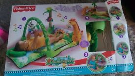 Sewing machine for kids, Fisher Price Baby Mat Rainforest Musical Gym